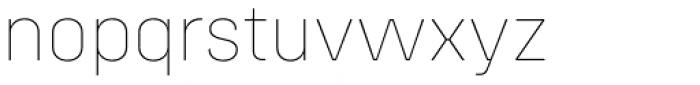 Config Alt Thin Font LOWERCASE