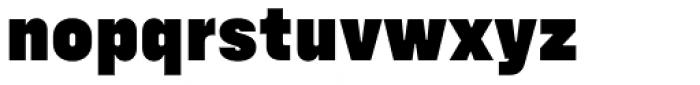 Config Black Font LOWERCASE