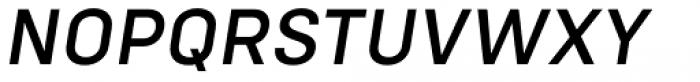 Config Medium Italic Font UPPERCASE