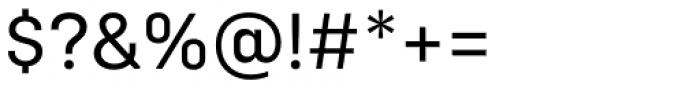 Config Regular Font OTHER CHARS