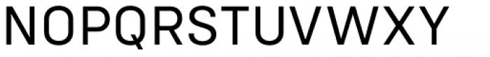 Config Regular Font UPPERCASE