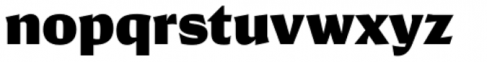 Conglomerate Black Font LOWERCASE