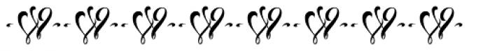 Congratulatory Latin Special Font UPPERCASE