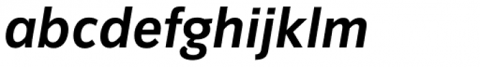 Congress Sans Std Bold Italic Font LOWERCASE