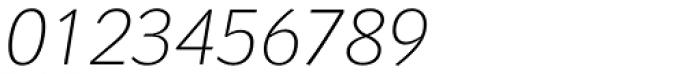 Congress Sans Std ExtraLight Italic Font OTHER CHARS