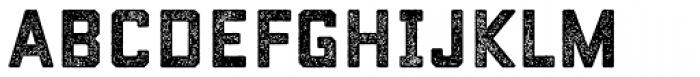 Conifer Rough Font LOWERCASE
