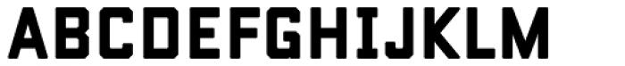 Conifer Solid Font UPPERCASE