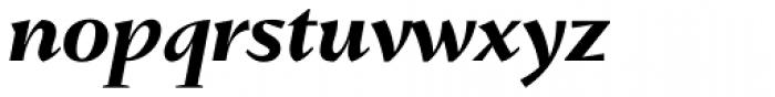 Conqueror Bold Italic Font LOWERCASE