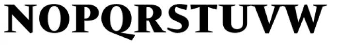 Conqueror ExtraBold Font UPPERCASE