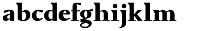 Conqueror ExtraBold Font LOWERCASE
