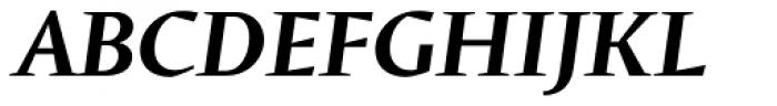 Conqueror SemiBold Italic Font UPPERCASE