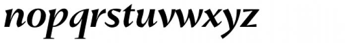 Conqueror SemiBold Italic Font LOWERCASE