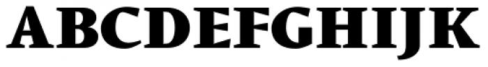 Conqueror Text Black Font UPPERCASE