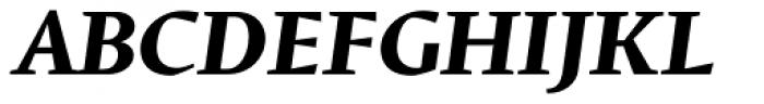 Conqueror Text Bold Italic Font UPPERCASE