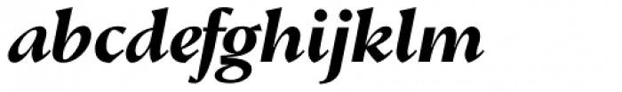 Conqueror Text Bold Italic Font LOWERCASE