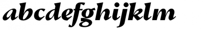 Conqueror Text ExtraBold Italic Font LOWERCASE