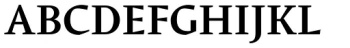 Conqueror Text Medium Font UPPERCASE