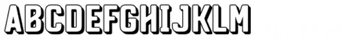 Conseil Shadow Font UPPERCASE