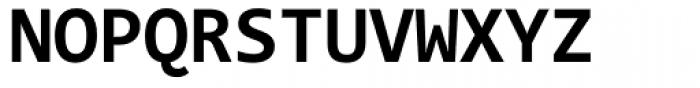 Consolas Bold Font UPPERCASE