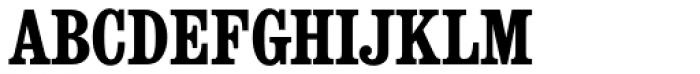Consort RR Bold Condensed Font UPPERCASE