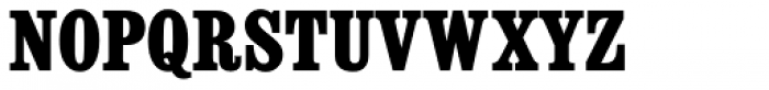 Consort RR ExtraBold Condensed Font UPPERCASE