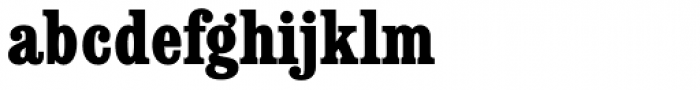Consort RR ExtraBold Condensed Font LOWERCASE