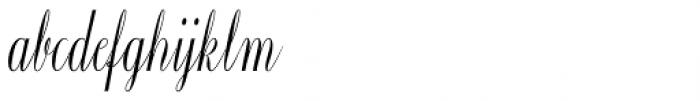 Constancia Script Bold Font LOWERCASE