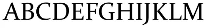 Constantia Font UPPERCASE