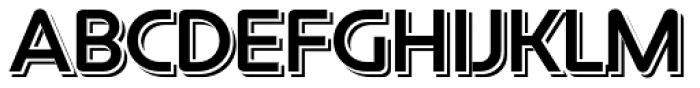 Constellation Echo Font UPPERCASE