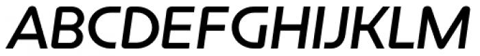 Constellation Medium Italic Font UPPERCASE