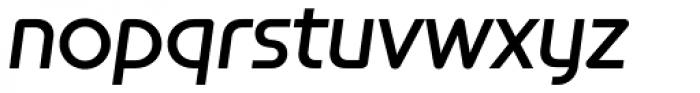 Constellation Medium Italic Font LOWERCASE