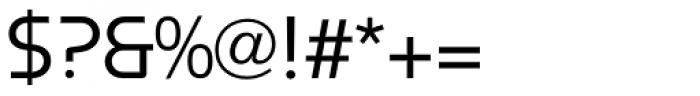 Constellation Regular Font OTHER CHARS