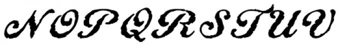 Constitution Regular Font UPPERCASE