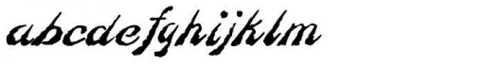 Constitution Regular Font LOWERCASE