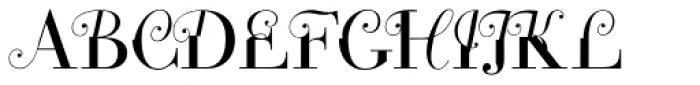 Constitution Font UPPERCASE