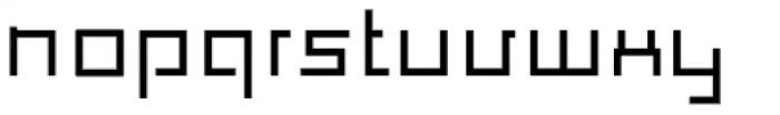 Construct Bold Font LOWERCASE