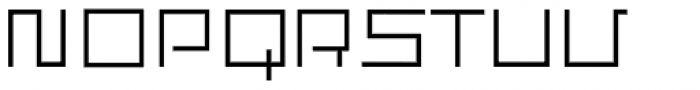 Construct Font UPPERCASE