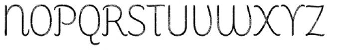 Consuelo Rough Font UPPERCASE