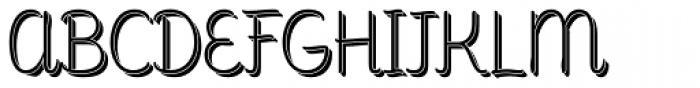 Consuelo Shadow Font UPPERCASE