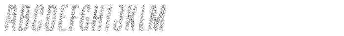 Containment Sparkle Font LOWERCASE