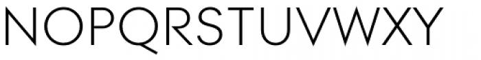 Contax Pro 45 Light SC Font UPPERCASE