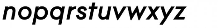 Contax Pro 76 Bold Italic Font LOWERCASE