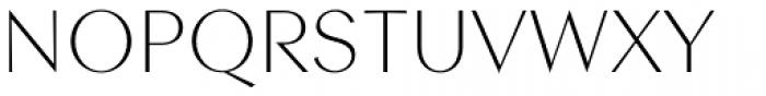 Contax Sans 35 Thin Font UPPERCASE
