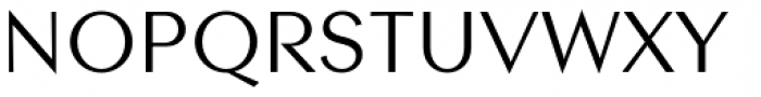 Contax Sans 55 Font UPPERCASE
