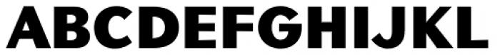 Contax Sans 95 UltraBlack Font UPPERCASE