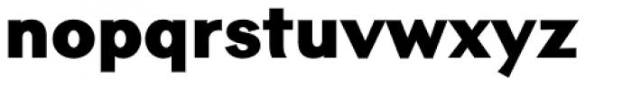Contax Sans 95 UltraBlack Font LOWERCASE