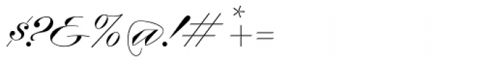 Contempo Elan Grand Script Font OTHER CHARS