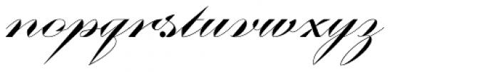 Contempo Elan Grand Script Font LOWERCASE