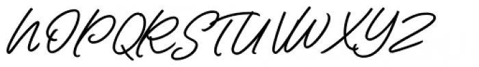 Contempora Script Bold Font UPPERCASE