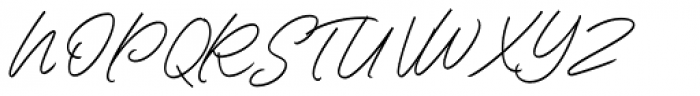 Contempora Script Regular Font UPPERCASE